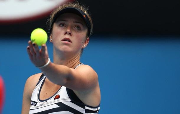 Цинциннати (WTA). Свитолина провалилась в первом же матче