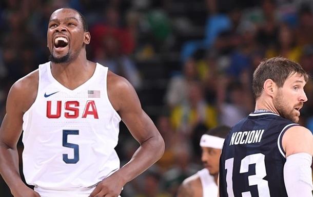 Баскетбол. США легко виходять у півфінал