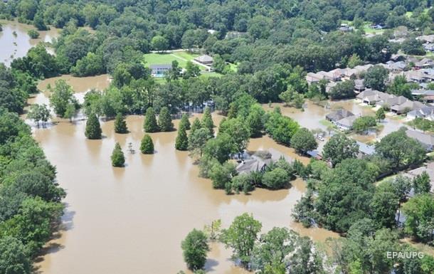 Выросло количество жертв наводнения в Луизиане