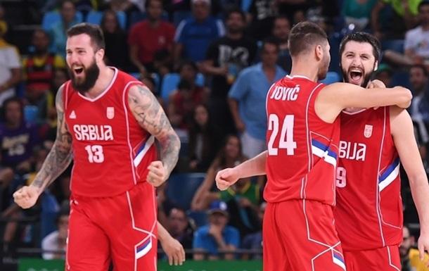Баскетбол. Сербия - полуфиналист турнира