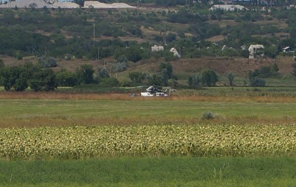 Вертолет ВСУ совершил аварийную посадку в Донецкой области