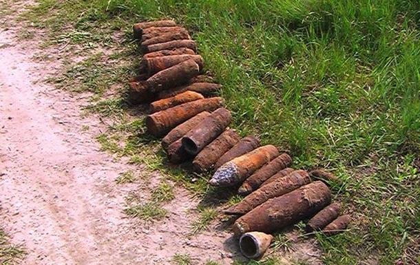 У Львівській області знайшли 100 снарядів і авіабомб