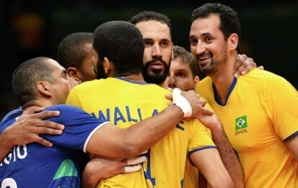 Волейбол. Бразилия разгромила Россию в полуфинале