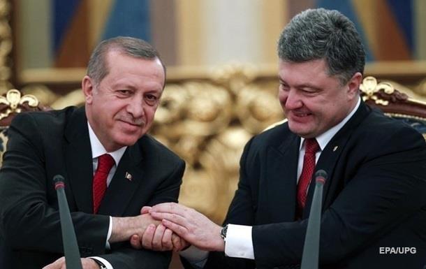 Эрдоган - Порошенко: Аннексию Крыма не признаем