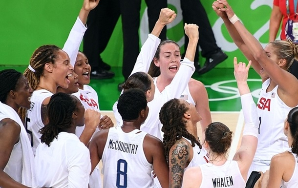 Баскетбол. Жінки. Збірна США бере золото