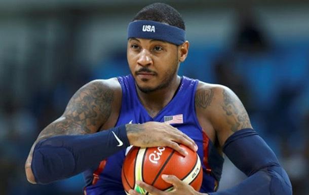 Баскетбол. Кармело - найтитулованіший гравець в історії Олімпійських Ігор