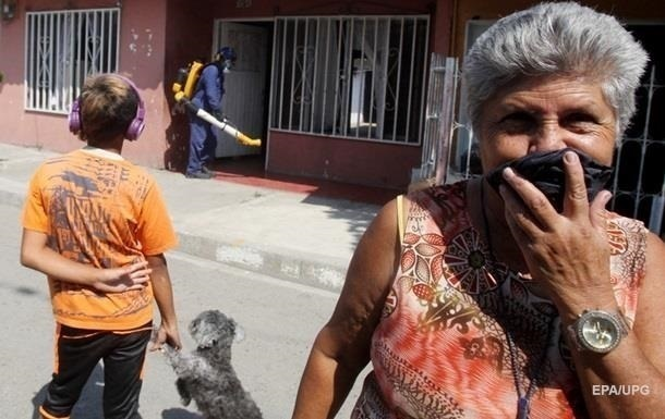 Кількість осіб, які заразилися вірусом Зіка в Мексиці, перевищила 1,88 тисяч