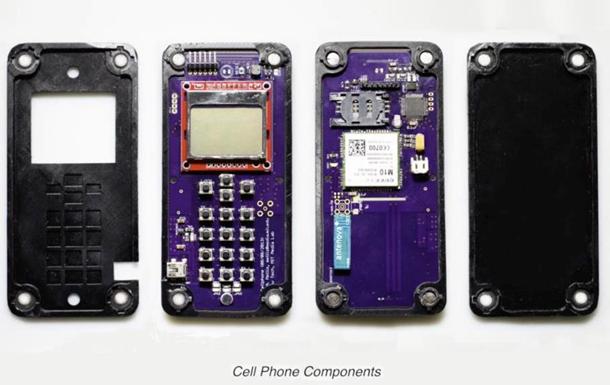 В США создан самособирающийся телефон