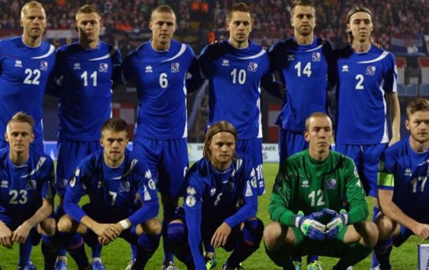 Ісландія оголосила склад на матч з Україною