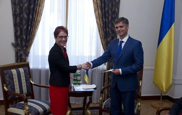 Новый посол США Йованович прибыла в Киев