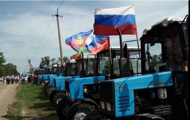 В России полиция задержала участников митинга на тракторах
