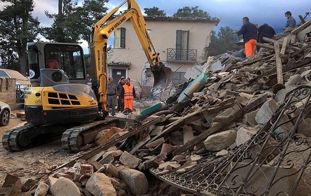 Кількість загиблих від землетрусу в Італії зросла до майже 20