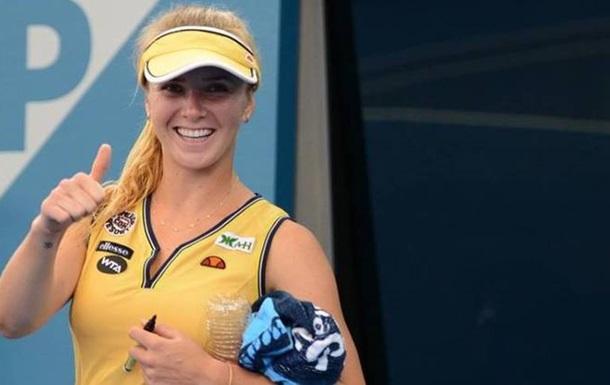 Свитолина обыграла россиянку и вышла в 1/4 турнира в Нью-Хэйвене