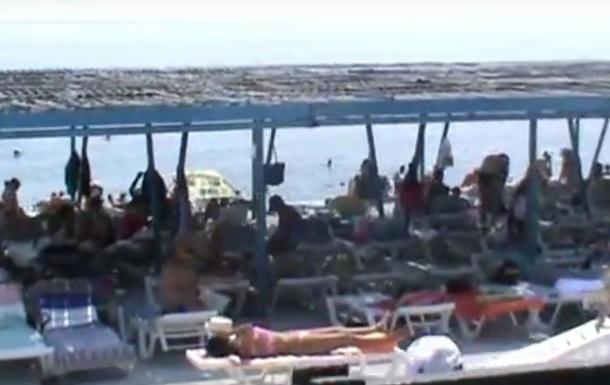 У мережі показали пляжі Партеніта в серпні