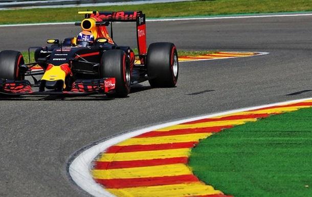 Формула-1. Гран-при Бельгии. Ферстаппен — лучший во второй тренировке