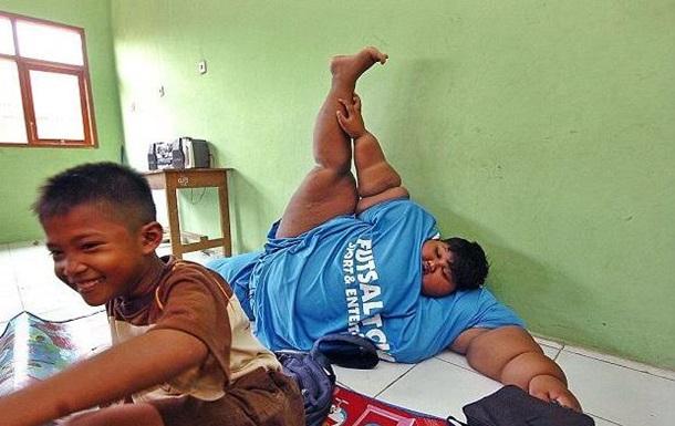 Самый толстый в мире мальчик похудел ради школы
