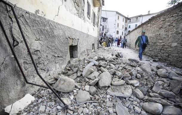 Землетрус в Італії: жертв уже 278