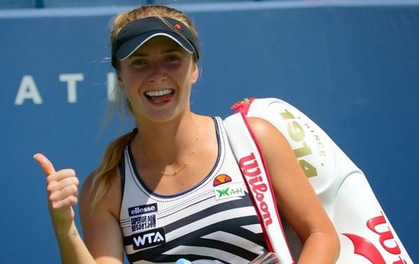 Украинка Элина Свитолина вышла в финал американского турнира