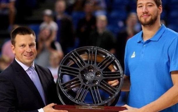 Український баскетболіст визнаний найкращим на міжнародному турнірі