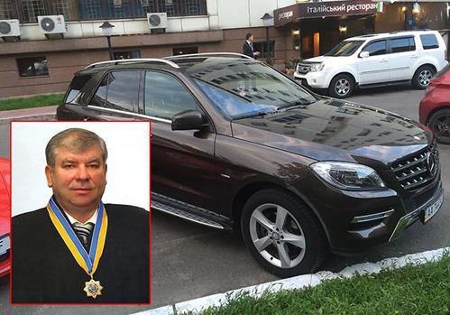 Судья Швец инсценировал кражу «Мерседеса» ради страховки?