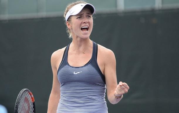 Еліна Світоліна поступилася у фіналі американського турніру