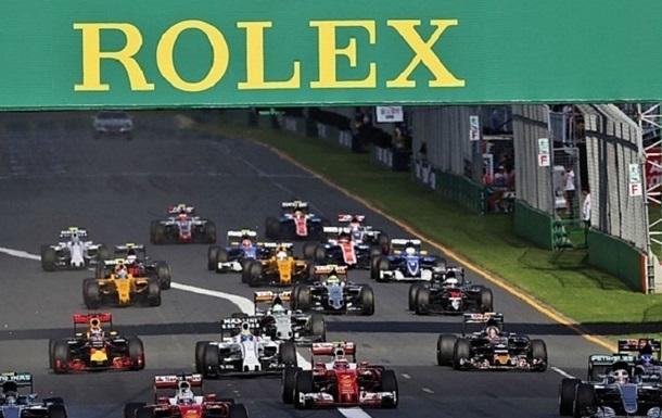 Формула 1. Сезон-2017 почнеться пізніше звичайного