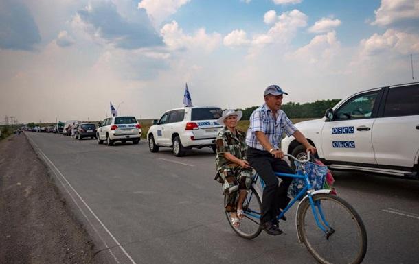 ОБСЄ позитивно оцінила режим тиші на Донбасі