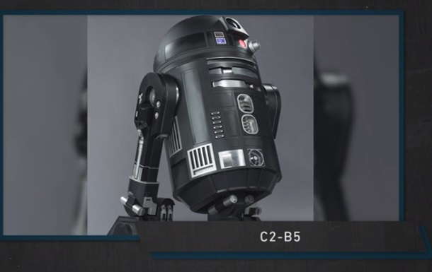 Создатели спин-оффа  Звездных войн  показали нового дроида