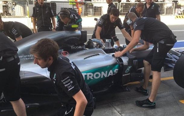 Формула-1. Гран-при Италии. Росберг — лучший в первой тренировке