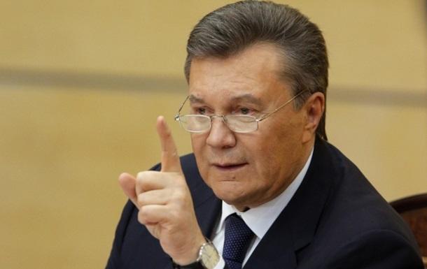 Янукович пожаловался на Луценко в полицию