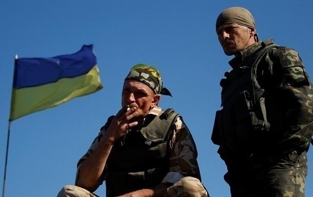 Вести из АТО:Позиции украинских военных обстреляли