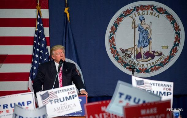 Трамп знову популярніший за Клінтон