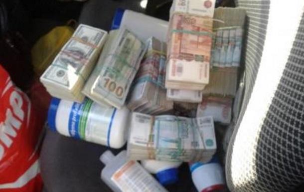 Луганець намагався вивезти 10 мільйонів рублів
