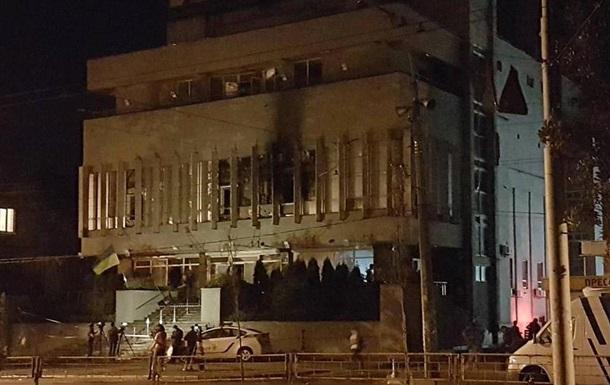 Поджог  Интера : Полиция отпустила задержанных