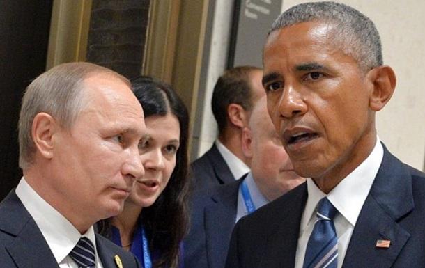 Обама розповів про зустріч з Путіним