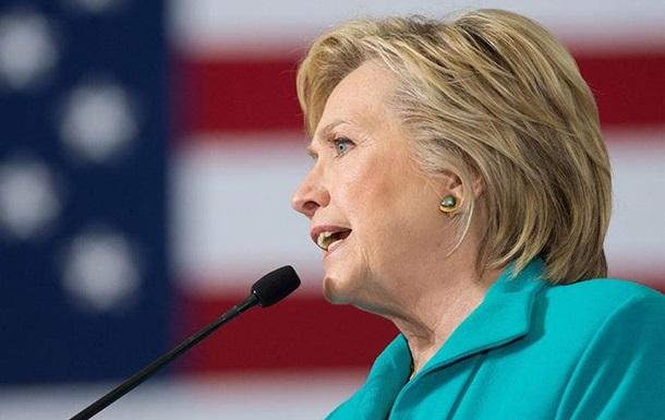 Клінтон: РФ може втрутитись в процес виборів у США