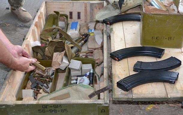 В АТО нашли российские боеприпасы
