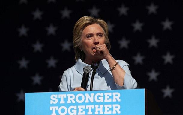 Клинтон объяснила свой приступ аллергией на Трампа