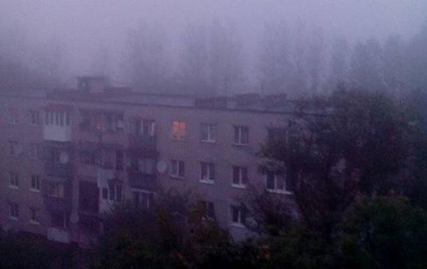Львів оповило димом від палаючих торфовищ