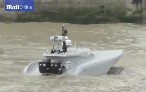 В Британии испытали футуристическую беспилотную лодку