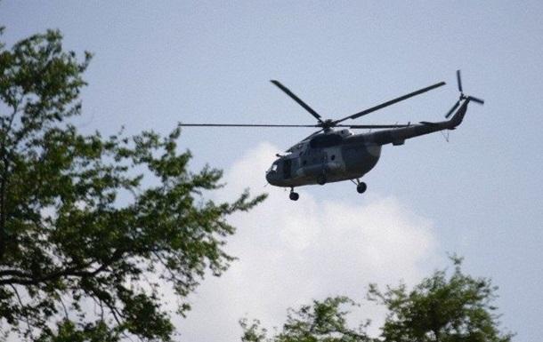 В Мексике преступники сбили полицейский вертолет