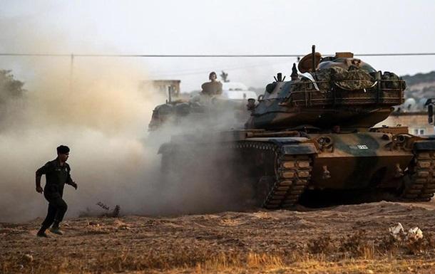 Туреччина зазнала перших втрат у Сирії