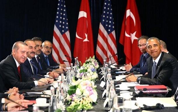Ердоган прийняв пропозицію Обами про спільну операцію в Сирії