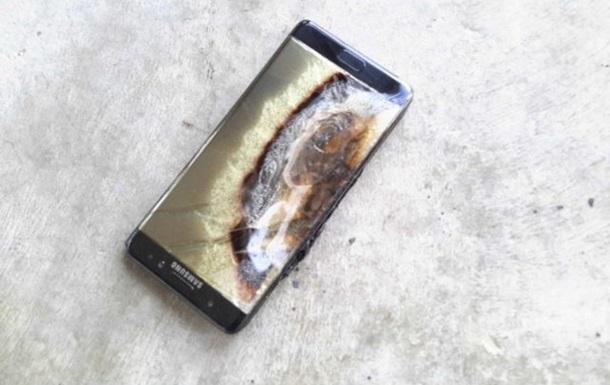 Згорілий Galaxy Note 7 завдав готелю збитків на $1400