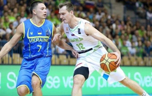 Евробаскет-2017. Квалификация. Украина уступает Словении