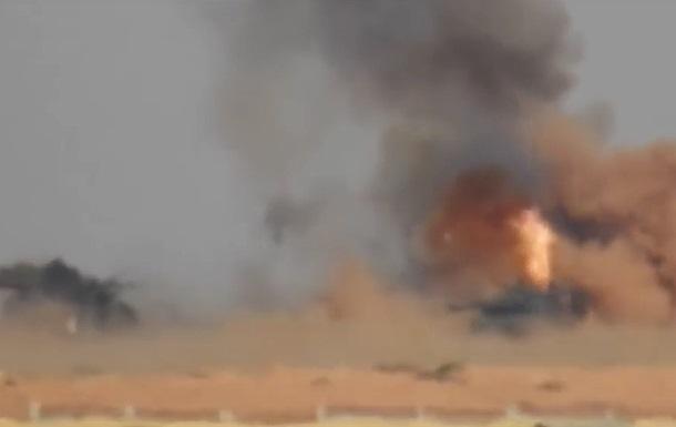 В Сирии ракеты РФ сожгли два турецких танка