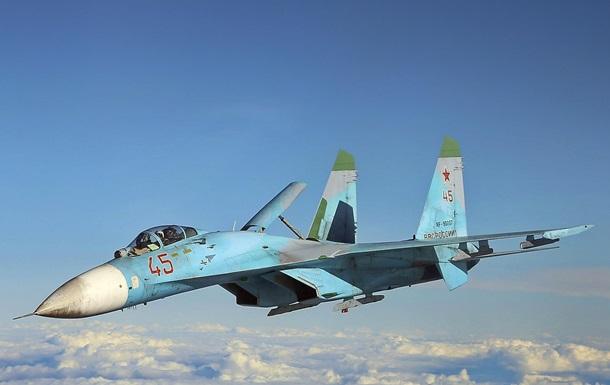 Росія показала виліт Су-27 з бази в Криму