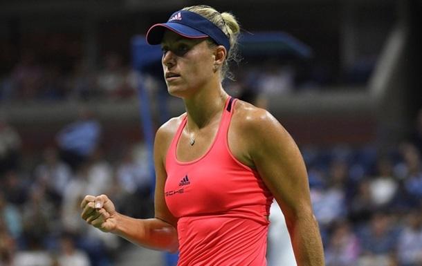Анжелик Кербер - вторая финалистка US Open!