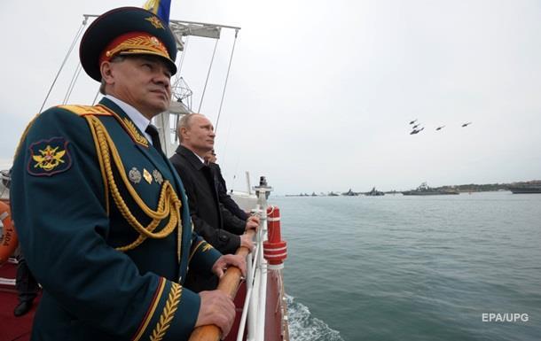 Киев протестует из-за визита Шойгу в Крым