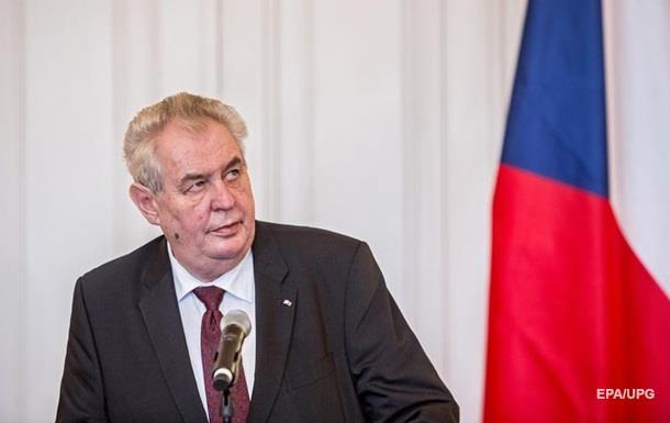 Президент Чехии: Вернуть Крым Украине невозможно